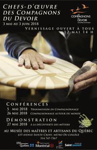 Exposition 'Chefs-d'oeuvre des Compagnons du Devoir'