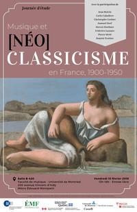 Musique et [Néo]classicisme en France, 1900-1950