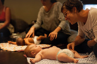 Atelier de massage pour bébés