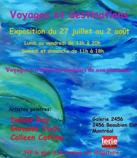 Voyages et destinations