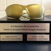 Concours les lunettes de sécurité d'or