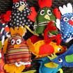 Atelier de manipulation de marionnettes